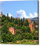 Towers Of The Alhambra Acrylic Print