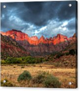 Towers Of The Virgin One Acrylic Print