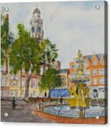 Town Hall Square Leicester Acrylic Print
