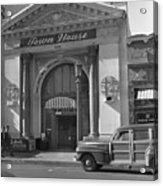 Town House And Woody Station Wagon, Alvarado Street - Monterey   Acrylic Print