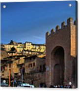 Town Of Assisi, Italy Acrylic Print