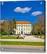 Town Of Ludbreg Square View Acrylic Print