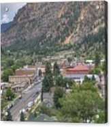 Town Of Ouray Acrylic Print