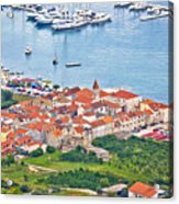 Town Of Seget Aerial View Acrylic Print