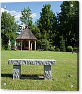 Town Park In Bartlett New Hampshire Usa Acrylic Print