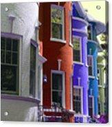 Townhouse Row 2 Acrylic Print