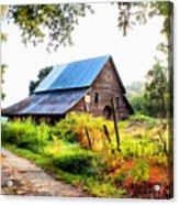 Townville Barn Acrylic Print