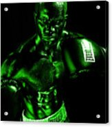Toxic Boxer Acrylic Print by Val Black Russian Tourchin