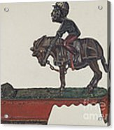 "Toy Bank: ""i Always Did 'spise A Mule"" Acrylic Print"