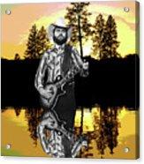 Toy Caldwell At Amber Lake Acrylic Print