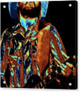 Toy Caldwell Plays The Blues Acrylic Print