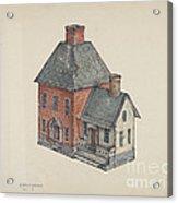Toy House Acrylic Print