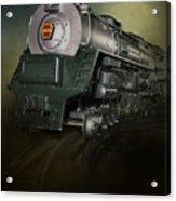 Toy Train Acrylic Print