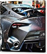 Toyota Ft-1 Concept Number 1 Acrylic Print
