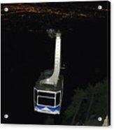 Tr09 Sandia Tram Acrylic Print