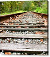 Tracking To The Right And Around The Bend Acrylic Print