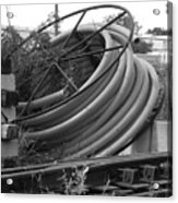 Tracks And Cable Acrylic Print