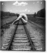 Tracks Acrylic Print by Chance Manart