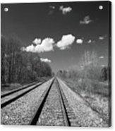 Tracks To Nowhere 1520 Acrylic Print