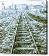 Tracks To Travel Tasmania Acrylic Print