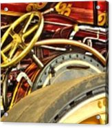Traction Engine Steering Mechanism Acrylic Print