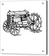 Tractor 1919 Henry Ford T-shirt Acrylic Print