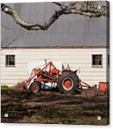 Tractor Barn Branch Acrylic Print