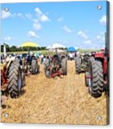 Tractor City Acrylic Print