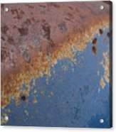 Tractor Decomposition Acrylic Print