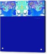 Tradition Blue Acrylic Print