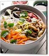 Traditional Chinese Soup  Acrylic Print