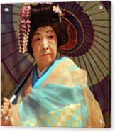 Traditional Japanese Acrylic Print