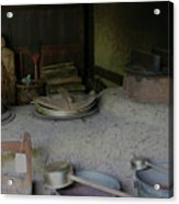 Traditional Japanese Kitchen Acrylic Print