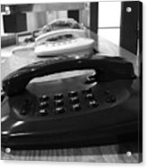 Traditional Telephones Acrylic Print