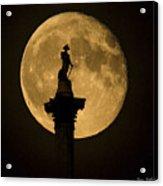 Trafalgar Moon Acrylic Print