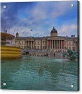 Trafalgar Square Fountain London 12 Acrylic Print