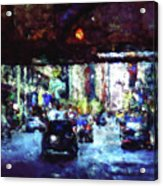 Traffic In The City Acrylic Print