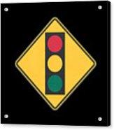 Traffic Light T-shirt Acrylic Print