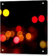 Traffic Lights Number 12 Acrylic Print