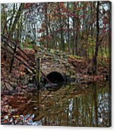 Trail Bridge Acrylic Print