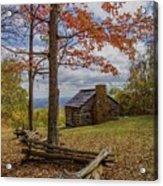 Trail Cabin Acrylic Print