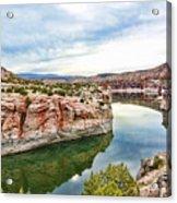 Trail Creek Canyon Acrylic Print