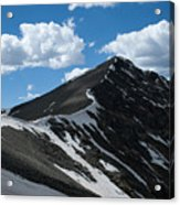 Trail From Grays To Torreys Acrylic Print
