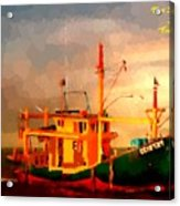 Trailer Ship H A Acrylic Print