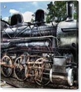 Train - Engine - 385 - Baldwin 2-8-0 Consolidation Locomotive Acrylic Print