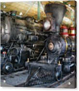 Train - Engine - Steam Locomotives Acrylic Print