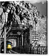 Train At Harpers Ferry Acrylic Print