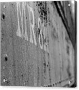 Train Car Elbe Washington Acrylic Print