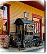 Train Depot Acrylic Print