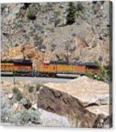 Train Engines Acrylic Print